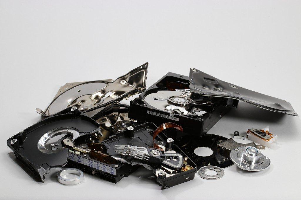 Hard disk drive scrap