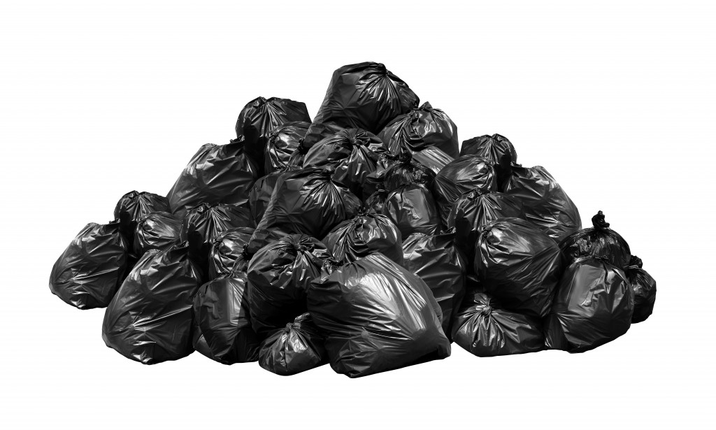 bags of rubbish